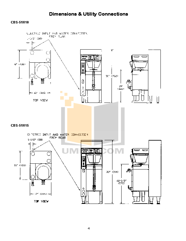 PDF manual for Fetco Coffee Maker CBS-2031s